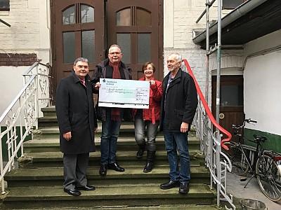 Königsburg Süchteln erhält Spende